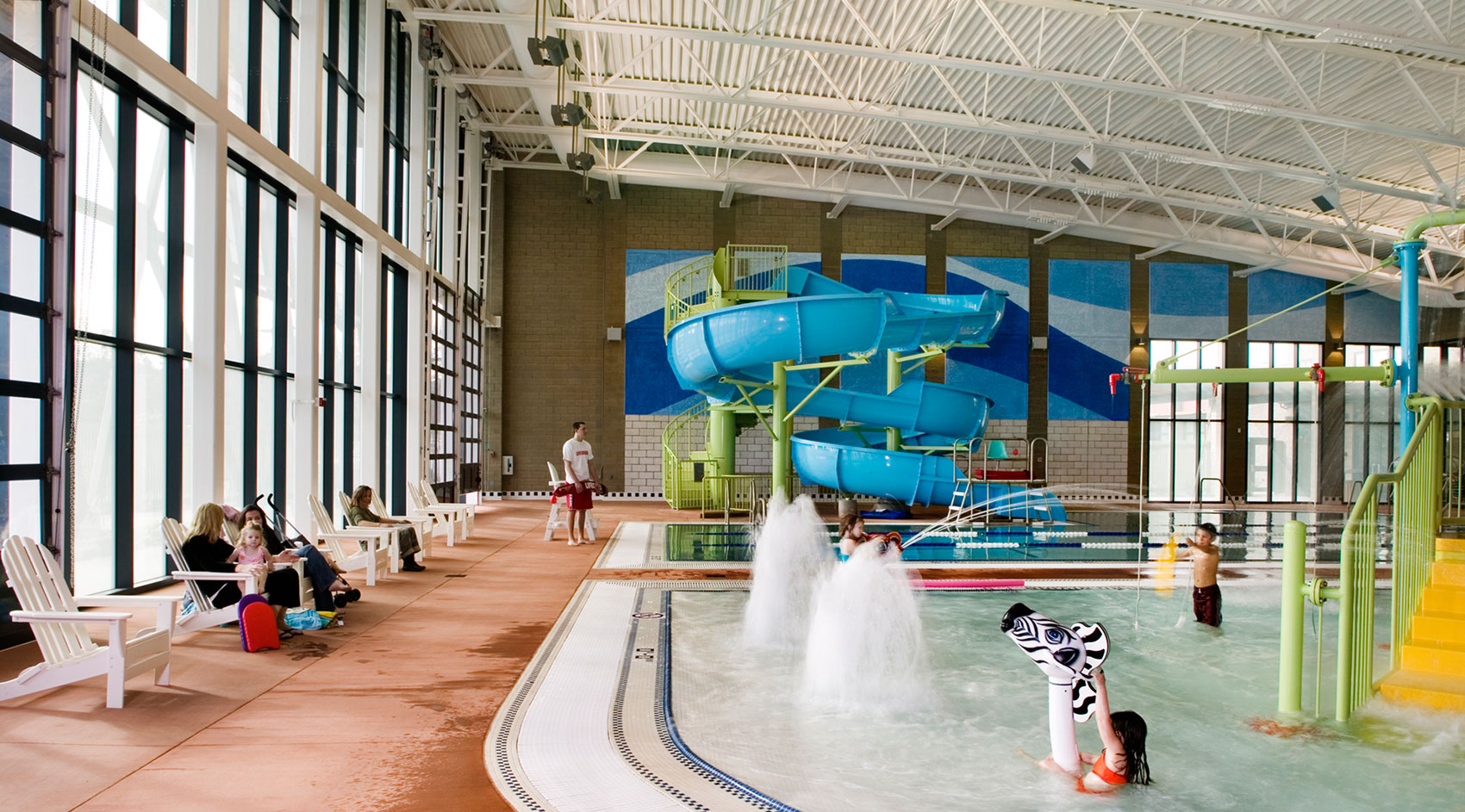 Centennial recreation center noll and tam - Centennial swimming pool richmond hill ...