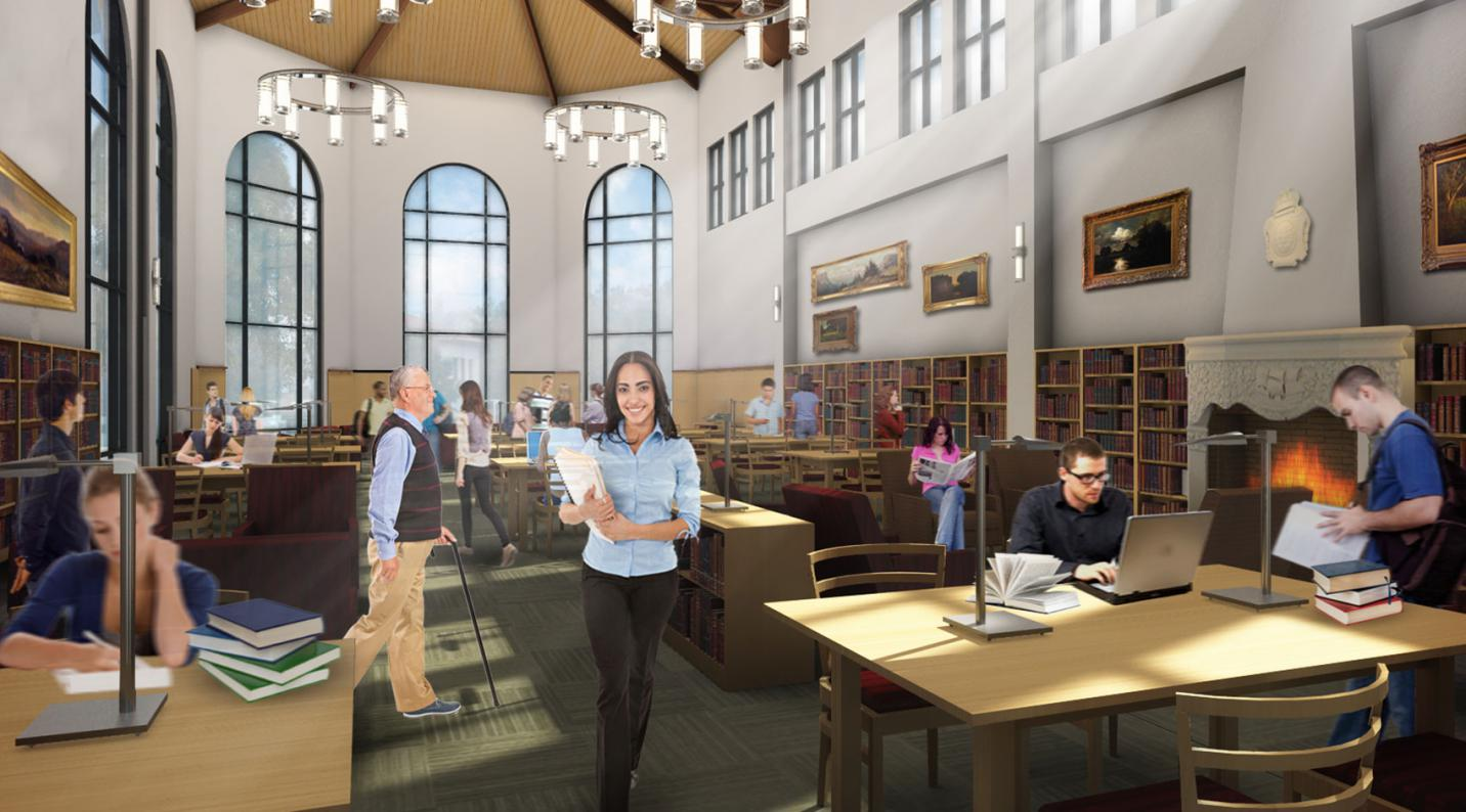 Saint Mary's College Library & Learning Commons   Noll and Tam