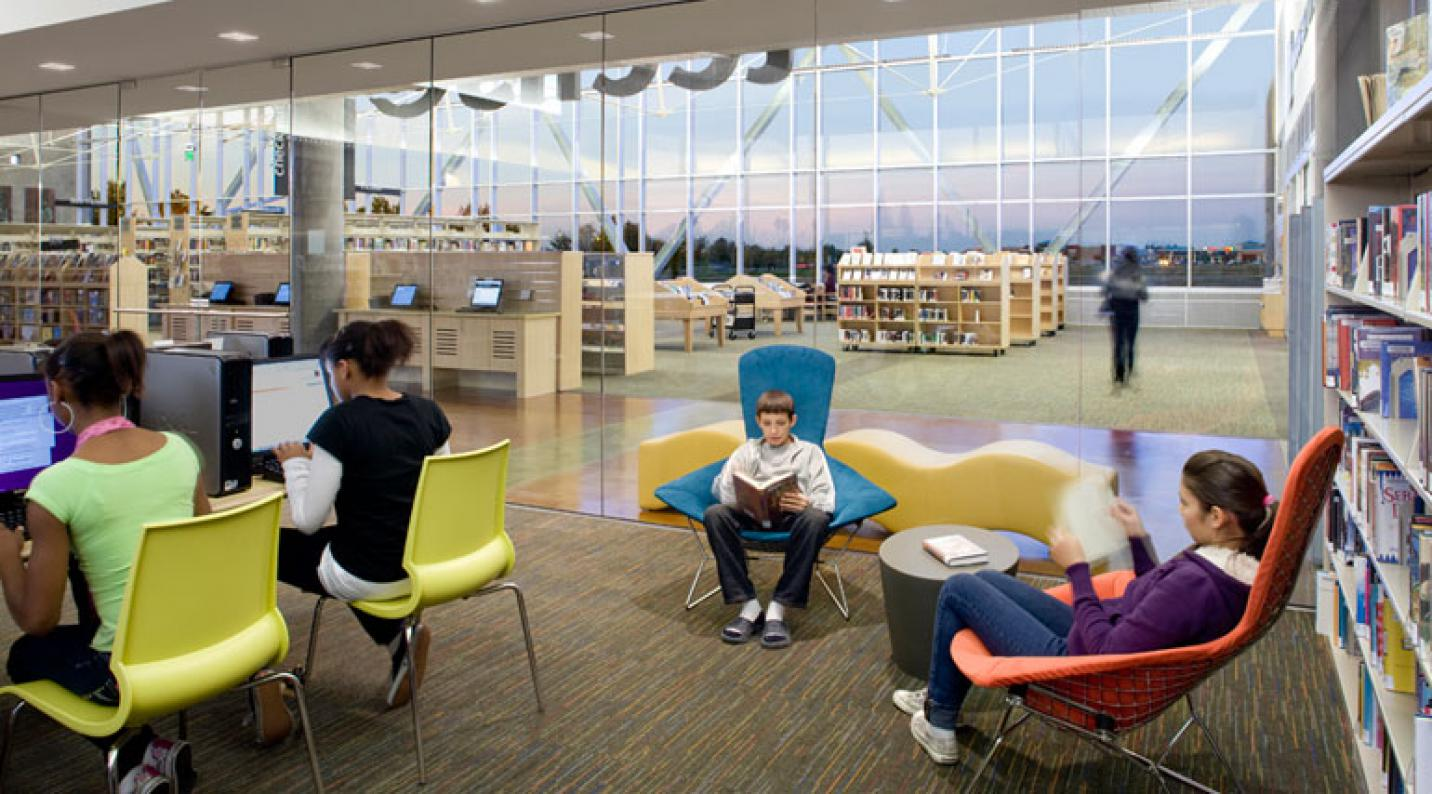 Castro Valley Library Study Rooms